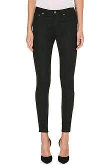 SAINT LAURENT Skinny mid-rise stretch-denim jeans