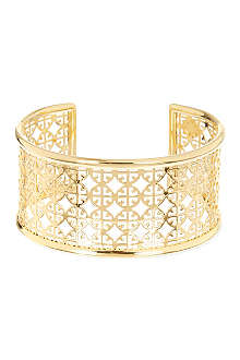 TORY BURCH Perforated logo cuff