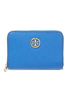TORY BURCH Robinson zipped leather purse
