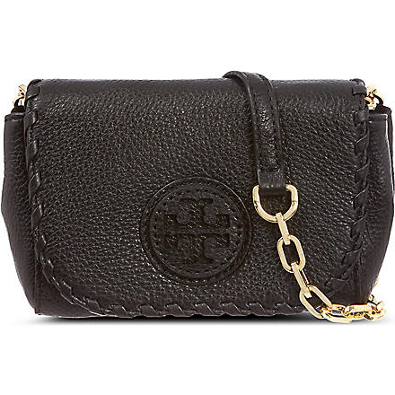 TORY BURCH Marion cross-body bag (Black