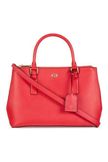 TORY BURCH Robinson double zipped mini tote