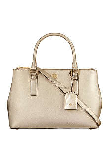 TORY BURCH Robinson mini zipped tote