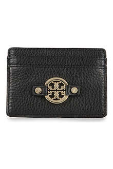 TORY BURCH Amanda slim leather card case