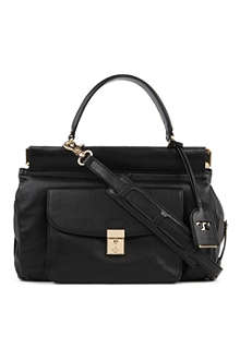 TORY BURCH Priscilla leather satchel