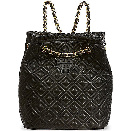 TORY BURCH Small Marion backpack (Black