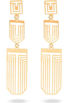 TORY BURCH Frete chandelier earrings