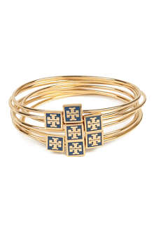 TORY BURCH Enamel stacking bangles