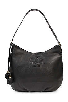 TORY BURCH Thea leather hobo