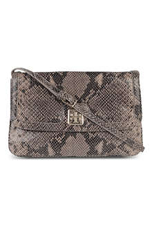 TORY BURCH Catalina leather clutch