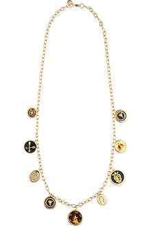 TORY BURCH Dellora charm necklace