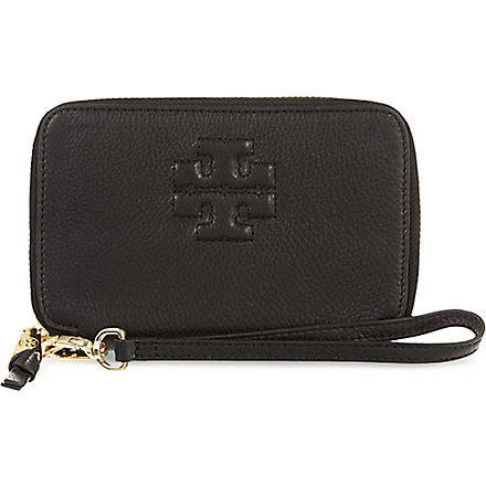 TORY BURCH Thea phone wristlet (Black