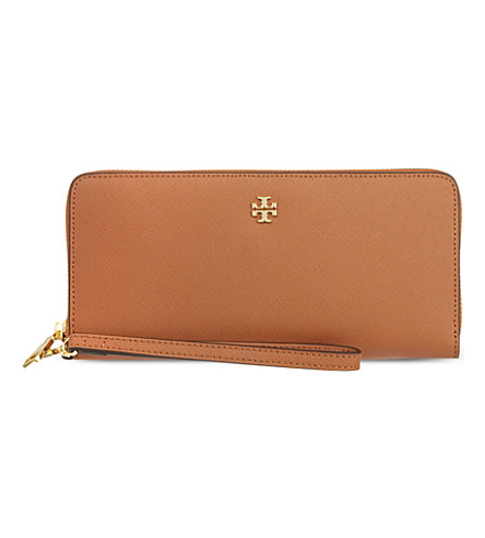 TORY BURCH York zip around wallet (Luggage