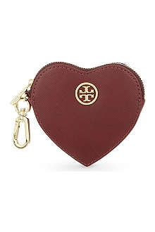TORY BURCH Heart coin purse