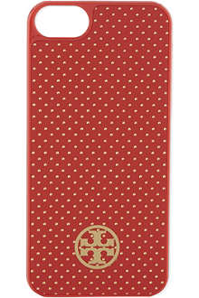 TORY BURCH Metallic pindot iPhone 5 case