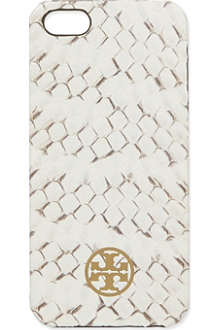 TORY BURCH Snake skin phone case