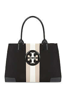 TORY BURCH Ella striped tote