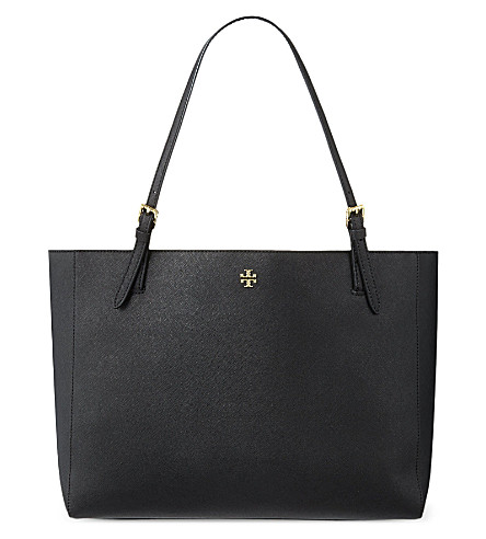 TORY BURCH York buckle tote (Black