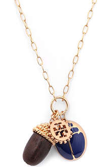 TORY BURCH Winslow acorn charm necklace