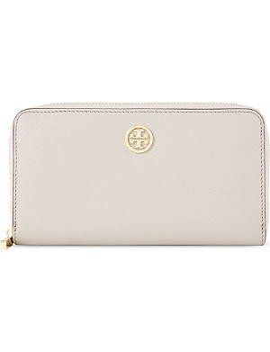 TORY BURCH Robinson continental leather wallet