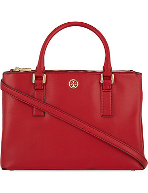 TORY BURCH Robinson mini leather tote