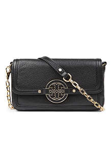 TORY BURCH Amanda leather cross-body bag