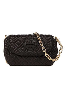 TORY BURCH Marion quilted leather cross-body bag