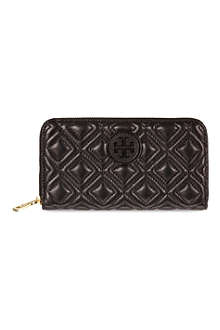TORY BURCH Marion quilted zip continental