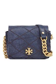 TORY BURCH Lysa mini leather shoulder bag