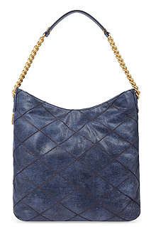 TORY BURCH Lysa leather hobo bag