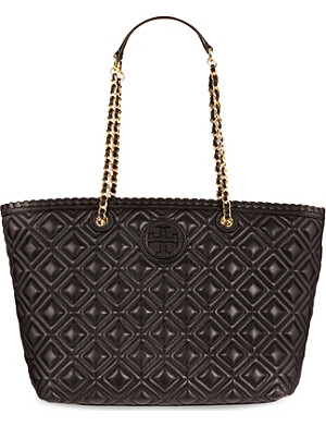 TORY BURCH Marion quilted leather small tote