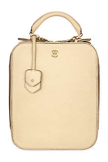 TORY BURCH Robinson pebbled leather backpack