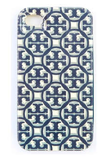TORY BURCH Logo lattice iPhone 4 case
