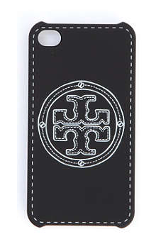 TORY BURCH Stacked logo iPhone 4 case