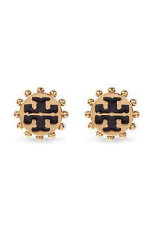 TORY BURCH Winslow logo stud earrings