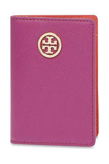 TORY BURCH Robinson saffiano leather purse