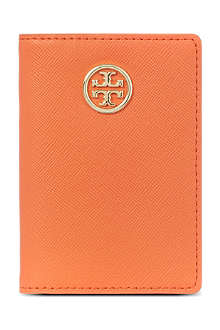 TORY BURCH Robinson saffiano pass holder