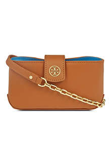 TORY BURCH Robinson saffiano cross-body bag