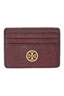 TORY BURCH Brittany card case