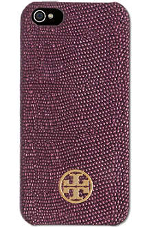 TORY BURCH Hard leather iPhone 5 case