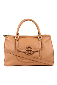 TORY BURCH Amanda leather double-zip hobo