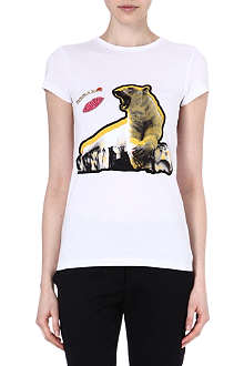 STELLA MCCARTNEY Bear print t-shirt