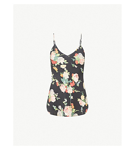 NILI LOTAN Isabella silk camisole (Floral print