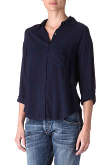 SPLENDID Long sleeve pocket shirt