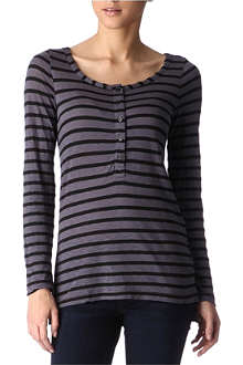 SPLENDID Venice striped top