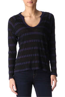 SPLENDID Seville striped top