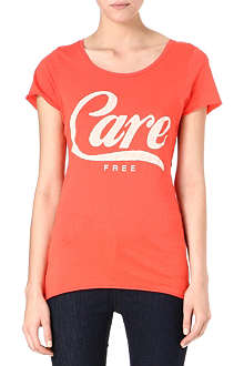 ZOE KARSSEN Care Free cotton-blend t-shirt