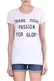 ZOE KARSSEN Trade Your Passion t-shirt