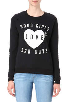ZOE KARSSEN Good Girls Love Bad Boys jumper