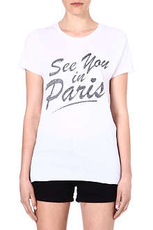 ZOE KARSSEN See You in Paris t-shirt