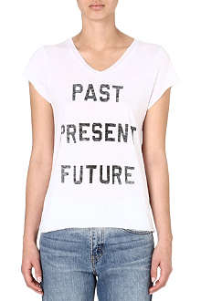 ZOE KARSSEN Past Present Future t-shirt
